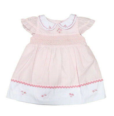 Baby Girls Pink Summer Dress & Pants by Chloe Louise (0-12 Months)