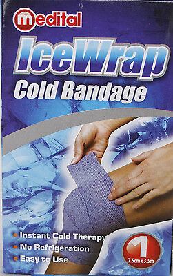 IceWrap - Cold Bandage - Instant Cold Therapy - 7.5cm x 3.5m