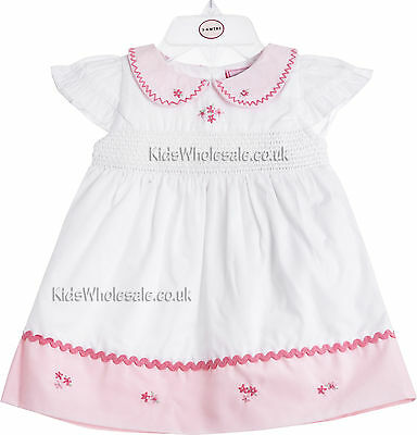 Baby Girls Dress & Pants Outfit by Chloe Louise - White (0-12 Months)