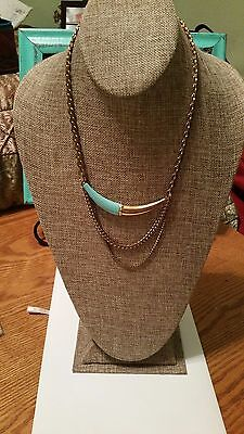 """Burlap Necklace Jewelry Display Stand 15-1/2"""" For long necklaces"""