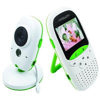 FaceLake Video Baby Monitor with Night vision Two Way Talk FL602