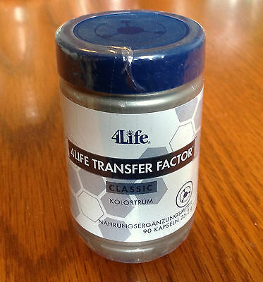 4Life Transfer Factor CLASSIC Colostrum Based Immune System Support 90 Capsules
