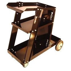 Mountain WECART Heavy Duty 3-Shelf Portable Welding Cart