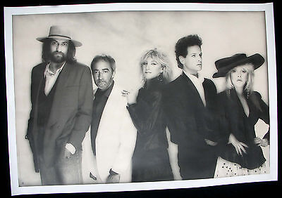 FLEETWOOD MAC Tango In The Night Promo Poster Mint- 1987 ORIGINAL!