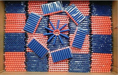 Wholesale Blue1000x Kid Refill Toy Gun Bullet Darts Round Head Blasters For NERF