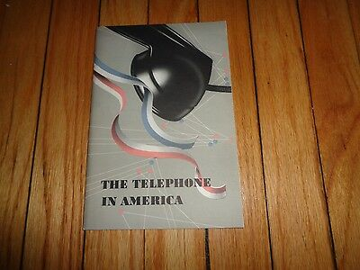 The Telephone in America Vintage Book AT & T 1948