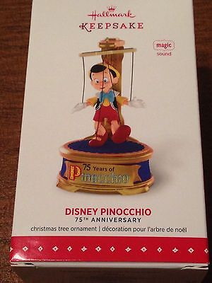 Hallmark 2015 Ornament - Disney Pinocchio - 75th Anniversary