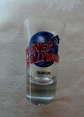 Planet Hollywood Shot Glass From Cancun