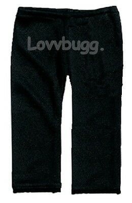 """Black Leggings Pants for 18"""" American Girl / Gotz Doll Clothes Widest Selection"""