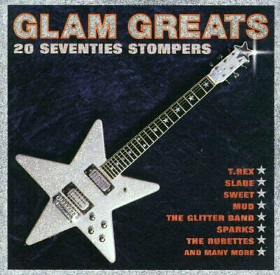 Various Artists - Glam Greats: 20 SEVENTIES STOMPERS - Various Artists CD C6VG