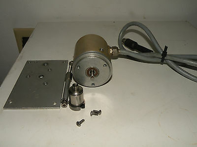 Heidenhain Encoder ROD 426 5000 With Flange and Coupling
