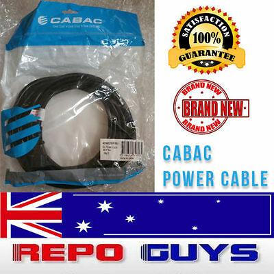 1 x 5m CABAC Extension Cord Cable  Mains Power Lead IEC Male - Female BRAND NEW