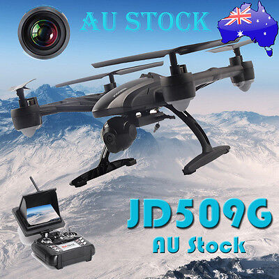 JXD 509G RC Drone FPV Quadcopter w/ HD Camera 5.8G Altitude Hold AU Stock 2017