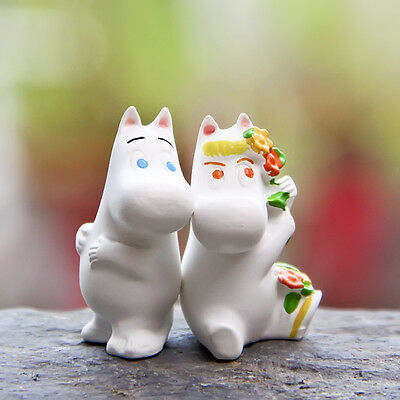 Moomin Valley Character Toy Moomintroll and Snork Maiden Action Figures