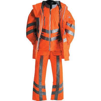 Pr497 Pulsarail 7-In-1 St Ormcoat Hi-Viz Orange Xxl