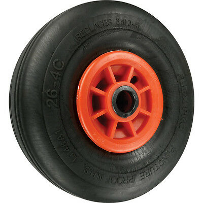 "Atlas Workholders Microcellular Tyre Poly Ctr 380Mm-1""B Wheel R/Brg"