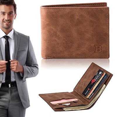 Baborry Fashion Mini Men's Luxury Business Wallets Card Holder Man Purse M2