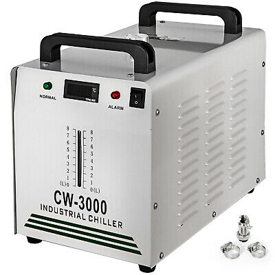 CW-3000 Industrial Water Chiller Glass Laser Tube 60W / 80W CO2 Laser Equipment