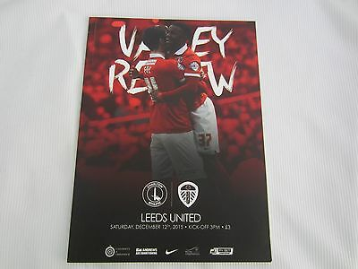 2015-16 CHAMPIONSHIP CHARLTON ATHLETIC v LEEDS UNITED ( SELL-OUT)