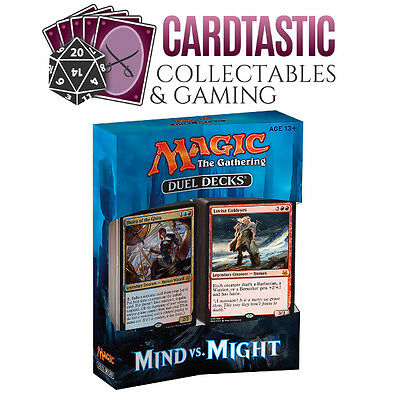 Magic the Gathering Mind vs Might Duel Deck