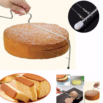 Cake Cutter Leveller Leveler Decorating Wire Slicer Cutting Decorator Tools