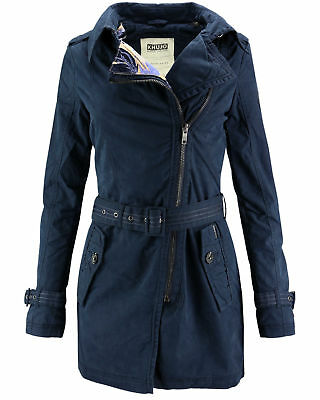 Ansonia Trenchcoat Khujo Damen Jacke Übergangs Mantel Y7vmby6fIg