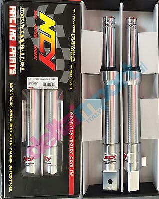 Coppia forcelle per HONDA ZOOMER Ruckus NPS50 27mm NCY Front Forks Silver