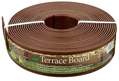 Master Mark Plastics 93340 Terrace Board  Landscape Edging Coil  3 Inch by 40 Fo
