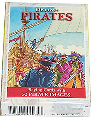 Discover Pirates set of 52 playing cards + Jokers (sts)