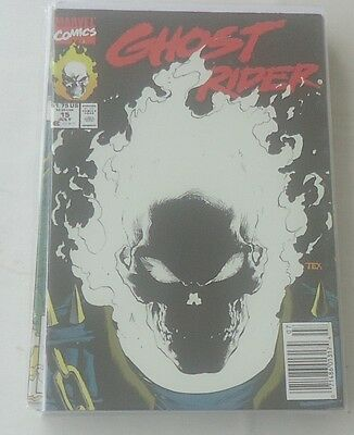 Ghost Rider Vol 2 #15 Newstand Ed Glow in the Dark Cover Mark Texeira Marvel