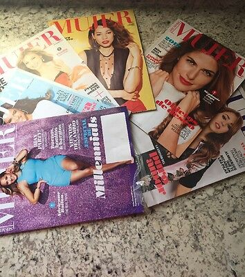 Spanish Siempre Mujer Magazine Lot Of (6) Free Shipping