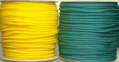 Braided Cord Poly Rope Line Tie String Strong PolyRope Polypropylene PP 3mm