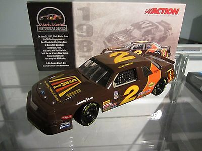 Mark Martin #6 Sai Roofing 1987 Action 1/24 Scale NASCAR Diecast