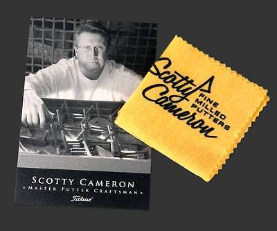NEW Scotty Cameron Studio Design Oil Cloth Cleaning Tool for Putter