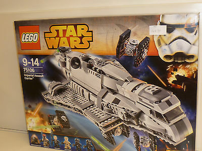 Lego 75106 - Star Wars Rebels:  Imperial Assault Carrier Neu und OVP