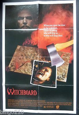 Witchboard Original 1986 1 Sheet Poster Todd Allen Tawny Kitaen Kevin Tenney