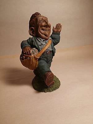 Retired 1991 Handcrafted Bill The Mailman Postman Lee Sievers #8022 Palm Studio