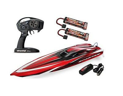 """Traxxas RTR Spartan Brushless 36"""" High Performance Race Boat #57076 OZ RC Models"""