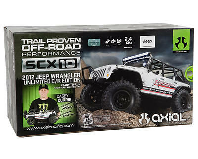 Axial RTR 1/10 SCX10 4WD 2012 Jeep Wrangler Unlimited C/R Edition #AX90035 OZ RC