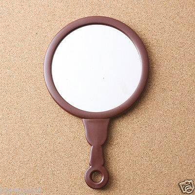 Hand Mirror (Medium size) Tabletop Makeup Cosmetic Compact Pocket Home Glass AD