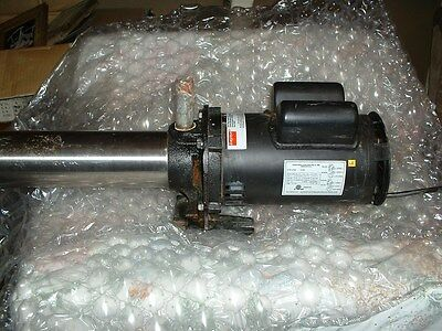 Used Dayton 5NXZ7 Multi-stage Booster Pump
