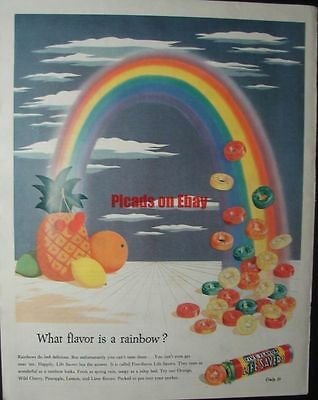 1944 Life Savers What Flavor is a rainbow? Five Flavor Pack Tangy as a Julep Bed