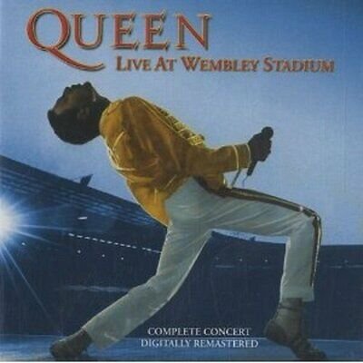 Queen - Live At Wembley Stadium - Queen CD TJVG The Cheap Fast Free Post The