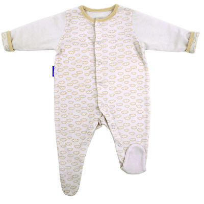 Gro Suit Baby Sleepsuit/Romper Warm Quilted Sleeves 3-6m/Size 00 Fluffy Clouds