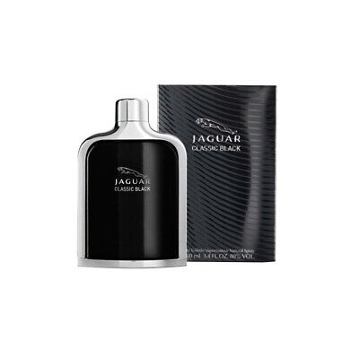 Jaguar Classic Black 100ml EDT (M) SP Mens 100% Genuine (New)