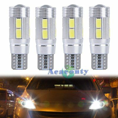 4x 10 SMD 5630 CREE CHIP LED Xenon w5w Canbus Standlicht Weiß Beleuchtung 3W