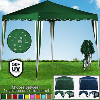 Side Panel or Gazebo 3x3m Pop Up Marquee or Tent Panels Awning Outdoor Party & SIDE PANEL OR Gazebo 3x3m Pop Up Marquee or Tent Panels Awning ...