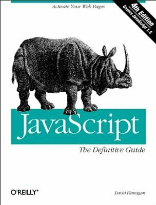 JavaScript: The Definitive Guide (Definitive Guid... by David Flanagan Paperback