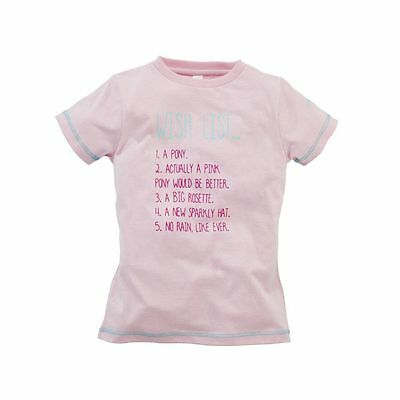 Harry Hall Wish List Junior T Shirt