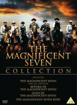 The Magnificent Seven Collection [DVD] - DVD  80VG The Cheap Fast Free Post